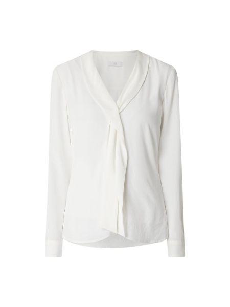 Biała bluzka z falbanami asymetryczna Riani