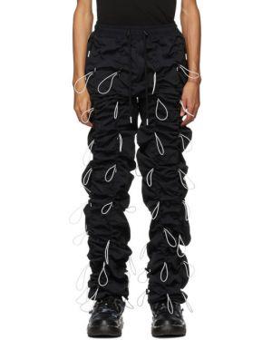 Черные брюки с манжетами 99% Is
