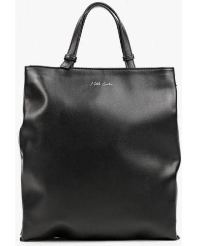 Кожаная сумка - черная Keddo