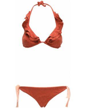 Pomarańczowy bikini Albertine
