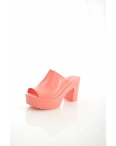 Сабо розовый на каблуке Melissa