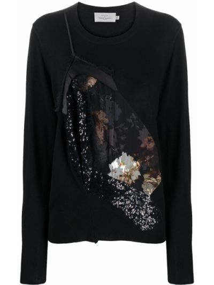 Вязаный свитер - черный Preen By Thornton Bregazzi