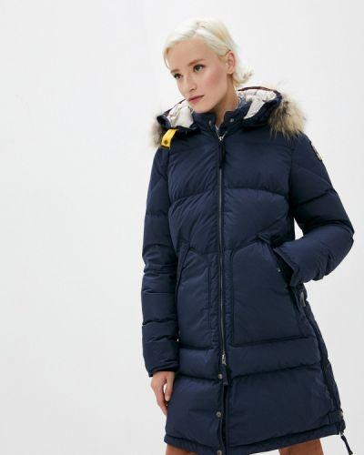 Синяя зимняя куртка Parajumpers
