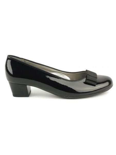 Кожаные туфли - черные Ara