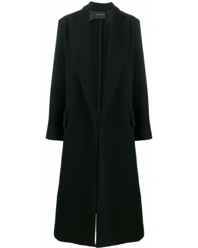 Длинное пальто пальто черное Erika Cavallini