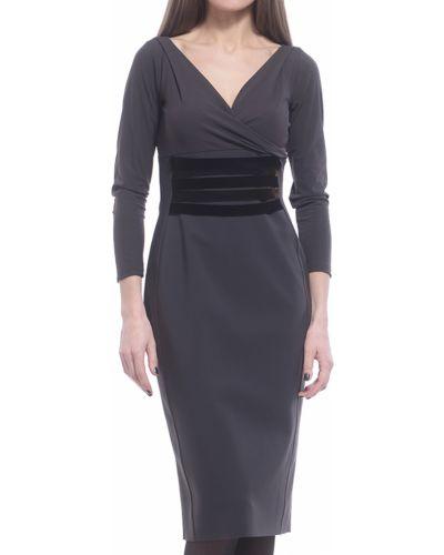 cb31e263d89 Купить серые платья в интернет-магазине Киева и Украины