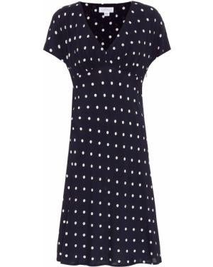 Синее бархатное платье винтажное Velvet
