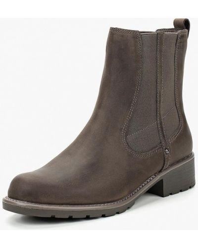 Ботинки челси осенние кожаные Clarks