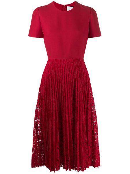 Платье мини миди на молнии Valentino