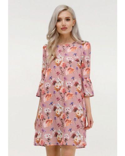 Розовое весеннее платье Masha Mart