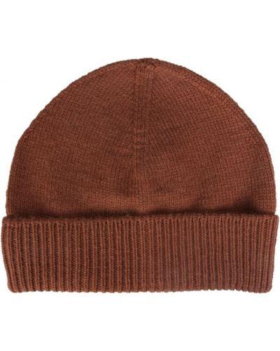 Brązowa czapka Maison Margiela