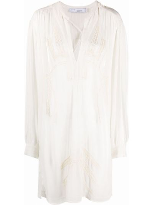 Платье макси длинное - белое Iro