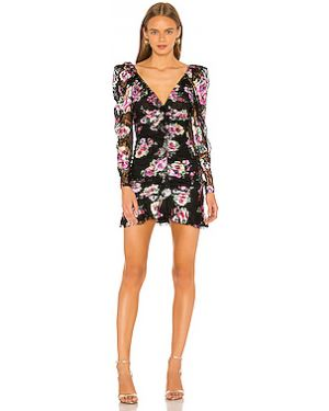 Платье мини с завышенной талией со складками For Love & Lemons