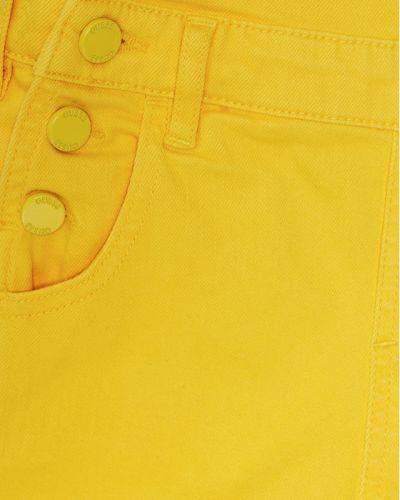 Żółty kombinezon Guess