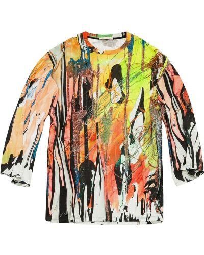 T-shirt bawełniana - biała Christopher Kane