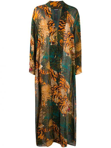 Kimono z długimi rękawami z rękawami Dsquared2
