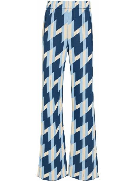 Широкие брюки - синие Dodo Bar Or