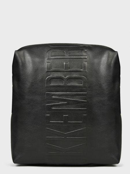 Кожаная сумка - черная Bikkembergs