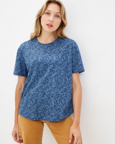 Синяя футболка с короткими рукавами Vis-a-vis