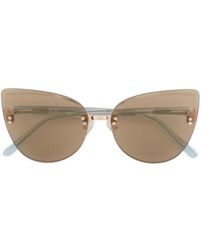 Солнцезащитные очки кошачий глаз коричневый N21
