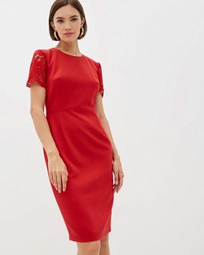 Платье футляр - красное French Connection