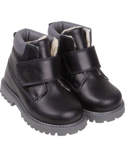 Синие ботинки Armani Junior