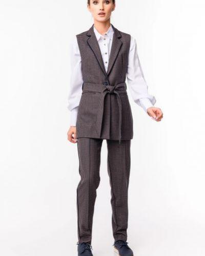 Классические брюки - коричневые Alito