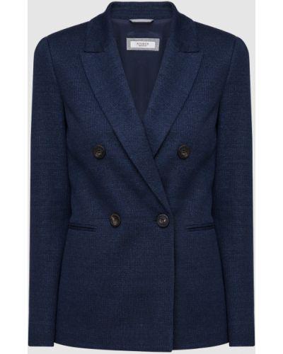 Синий пиджак Peserico