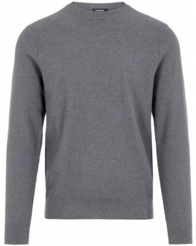 Sweter bawełniany - szary J.lindeberg