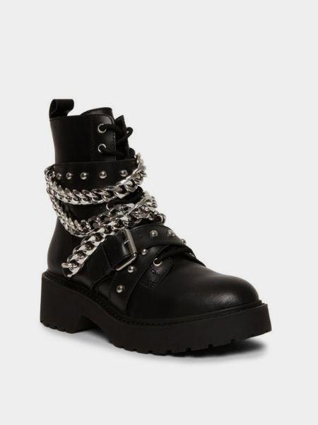 Ботинки - черные Steve Madden
