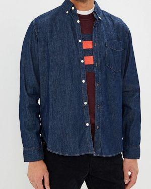 Синяя джинсовая рубашка Gap