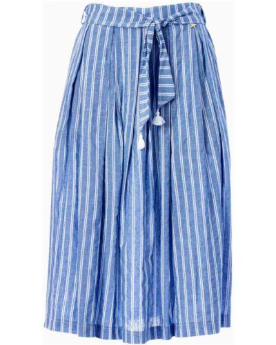 Niebieska spódnica Souvenir