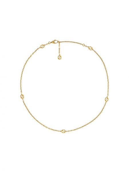 Naszyjnik ze złota żółty Gucci