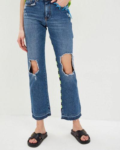 Прямые джинсы итальянский синие Iceberg