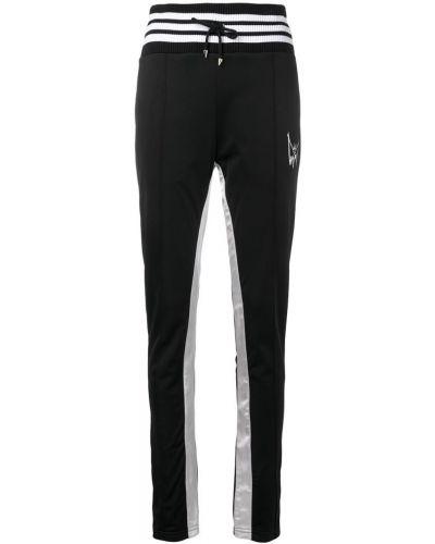 Черные спортивные брюки с поясом Mjb