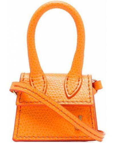 Маленькая сумка круглая оранжевый Jacquemus