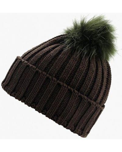 Коричневая шапка осенняя Vitacci