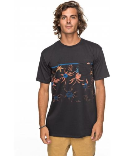 Серая футболка Quiksilver