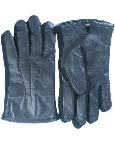 Черные перчатки Lagerfeld