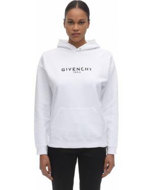 Bluza z kapturem z kapturem przeoczenie Givenchy