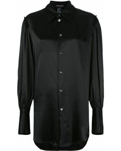 Блузка шелковая приталенная Ann Demeulemeester