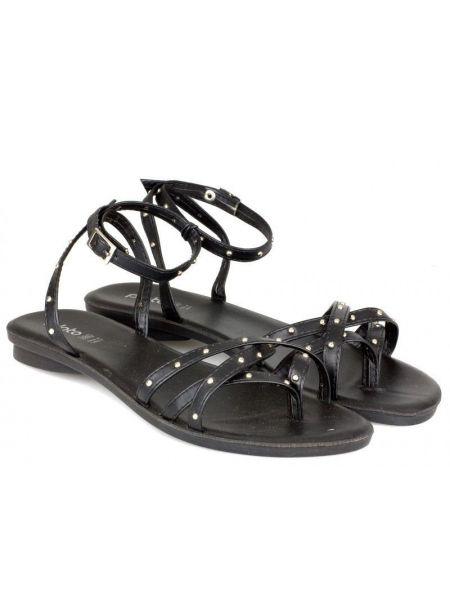 Повседневные черные сандалии Plato