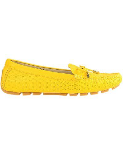 Желтые мокасины Francesco Valeri