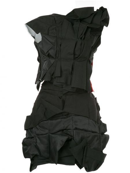 Czarny garnitur wełniany bez rękawów Comme Des Garçons Pre-owned