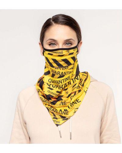 Żółta bandana materiałowa Mr. Gugu & Miss Go
