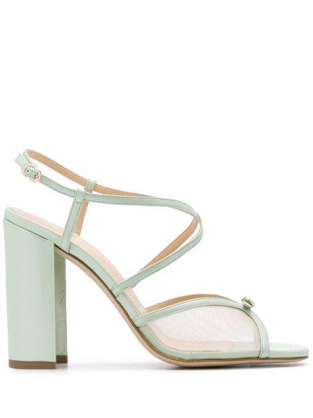 Массивные открытые босоножки на высоком каблуке на каблуке с пряжкой Chloe Gosselin