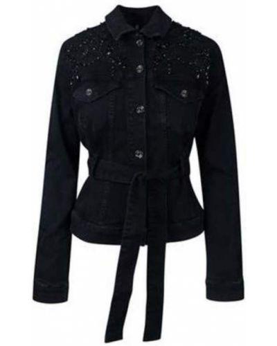 Niebieski kurtka jeansowa Liu Jo