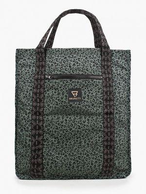 Зеленая сумка шоппер Brunotti