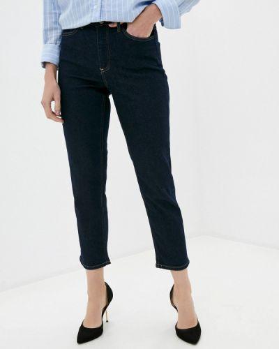 Прямые синие прямые джинсы Ichi