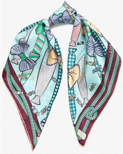 Бирюзовый платок итальянский Eleganzza